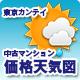 東京カンテイ 中古マンション価格天気図